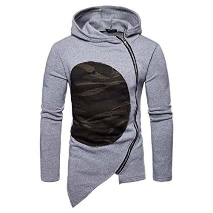 Amazon.com: Gift Ideas! Teresamoon Mens Hooded Camouflage ...