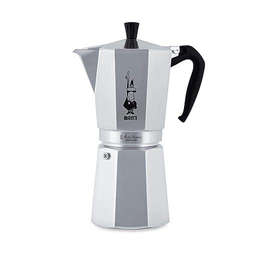 Bialetti Moka Express - Cafetera Espresso para 18 Tazas: Amazon.es ...