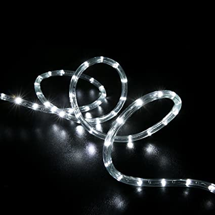 Amazon wyzworks 50 feet cool white led rope lights flexible wyzworks 50 feet cool white led rope lights flexible 2 wire accent holiday christmas aloadofball Choice Image