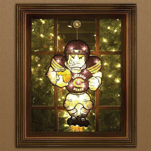 Chicago Bears Window Light (Chicago Bears Light-Up Window Player)