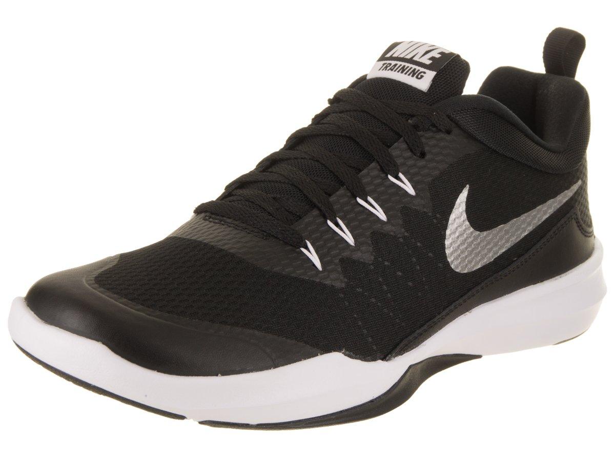 NIKE Men's Legend Trainer Training Shoe B003KG5FKG 10 D(M) US|Black/Metallic Silver/White