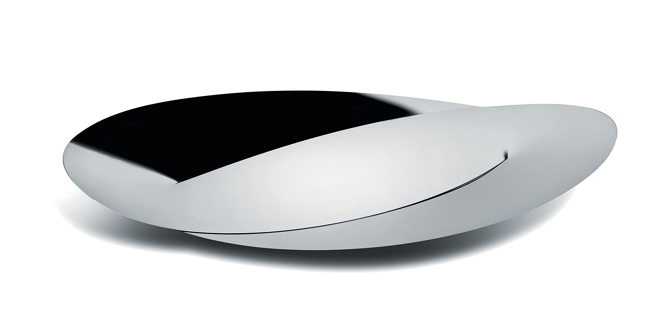 Alessi''Octave'' Centerpiece in 18/10 Stainless Steel Mirror Polished, Silver
