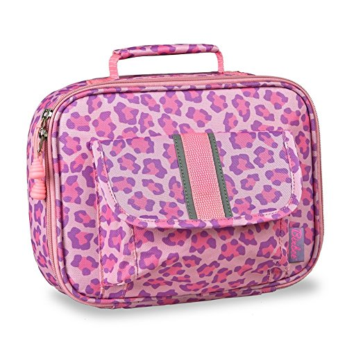 bixbee-pink-purple-sassy-spot-leopard-insulated-lunchbox-girls
