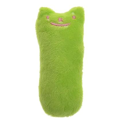 Juguetes de peluche para mascotas con almohadilla de gato resistente a las picaduras de los dientes