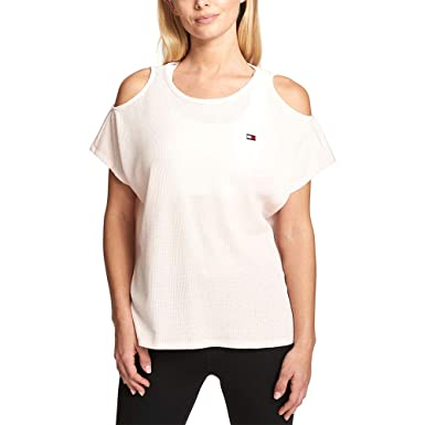 1f4c077173ba88 Image Unavailable. Image not available for. Color  Tommy Hilfiger Sport Cold -Shoulder ...