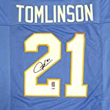 San Diego Chargers LaDainian Tomlinson Autographed Blue Jersey PSA/DNA