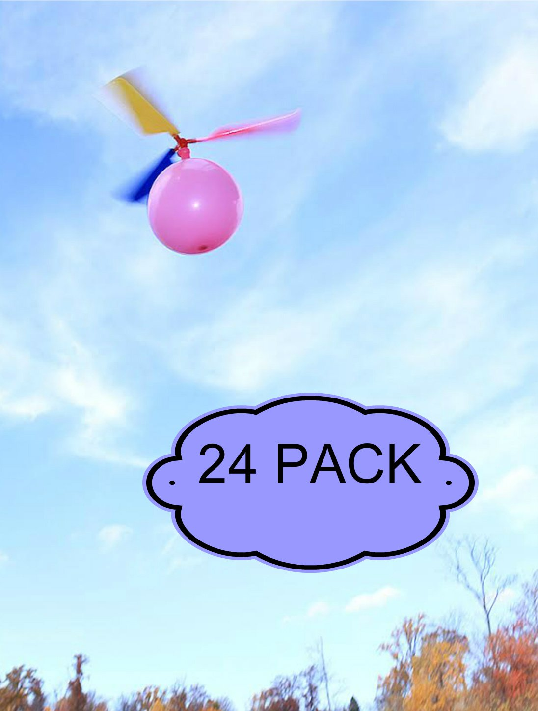 amazon com kids balloon helicopter party favor toy balloon