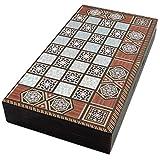 The 19'' Magic Star Backgammon Turkish Premium Board Game Set