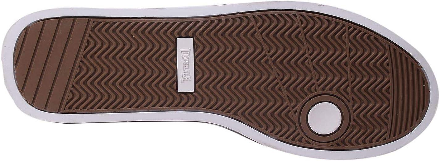 Lonsdale Latimer Chaussures de sport décontractées pour homme Dessus en cuir Marron