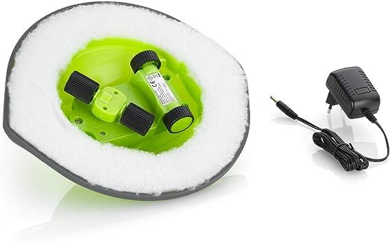 Comag Slim - Robot aspirador con almohadilla antipolvo (1,8 W, 2,4 ...