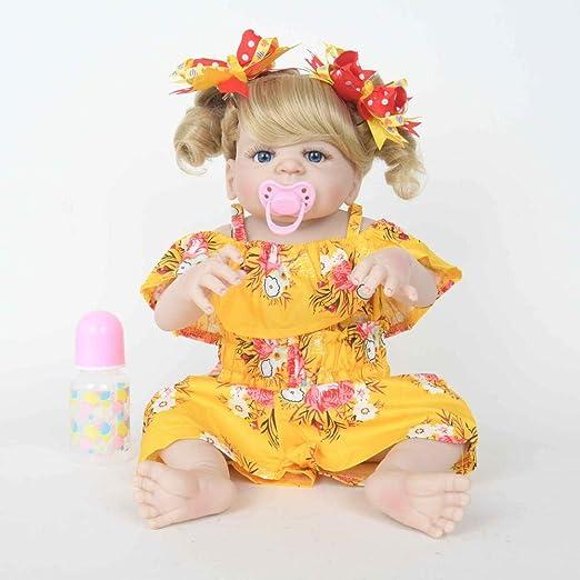 SONGXM Reborn Bebé 55 CM Reborn Baby Suave Vinilo de ...
