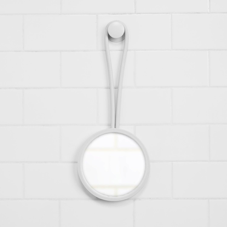 Umbra Flex Shower Mirror, White -