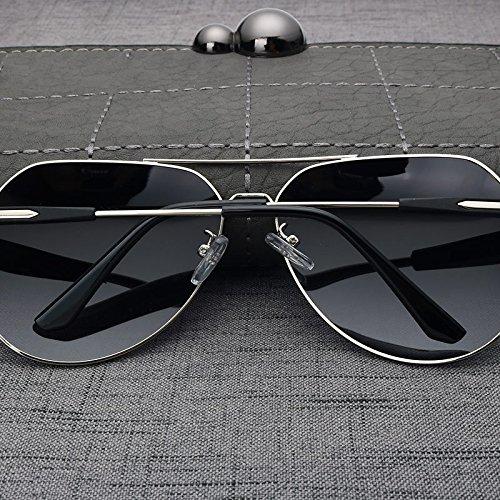 De Gun Por Hombre Color Aviador Conducción Gafas Gris Gafas Polarizadas Gafas TIANLIANG04 Sol El Sol De Gray Para Gun HTfwEWq