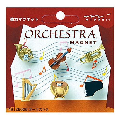 Midori Oj Mini Magnet, Orchestra Magnet (49126006)