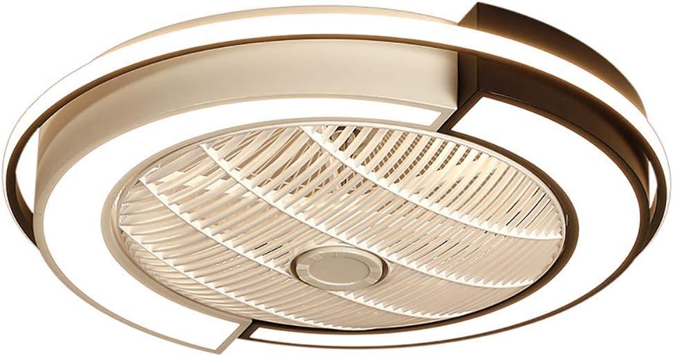 Invisible Light Ventilador, Moderna Minimalista LED Tres Tonos De Luz con Techo De Control Remoto De La Lámpara De La Sala Comedor Dormitorio De La Lámpara De Habitaciones 220