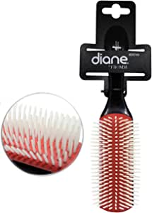 Diane Nylon Bristle Hair Brush - Cushion 9-Row (1 Pack)