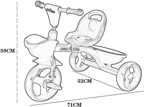 Carritos de paseo para niños, triciclos, triciclos, triciclos, con ...