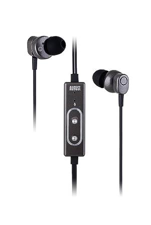 August EP715 – Auriculares In-Ear con Cancelación de Ruido Activa – Cascos con Kit