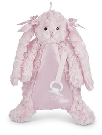 Amazon.com: Bearington Cottontail Chupete mascota de peluche ...