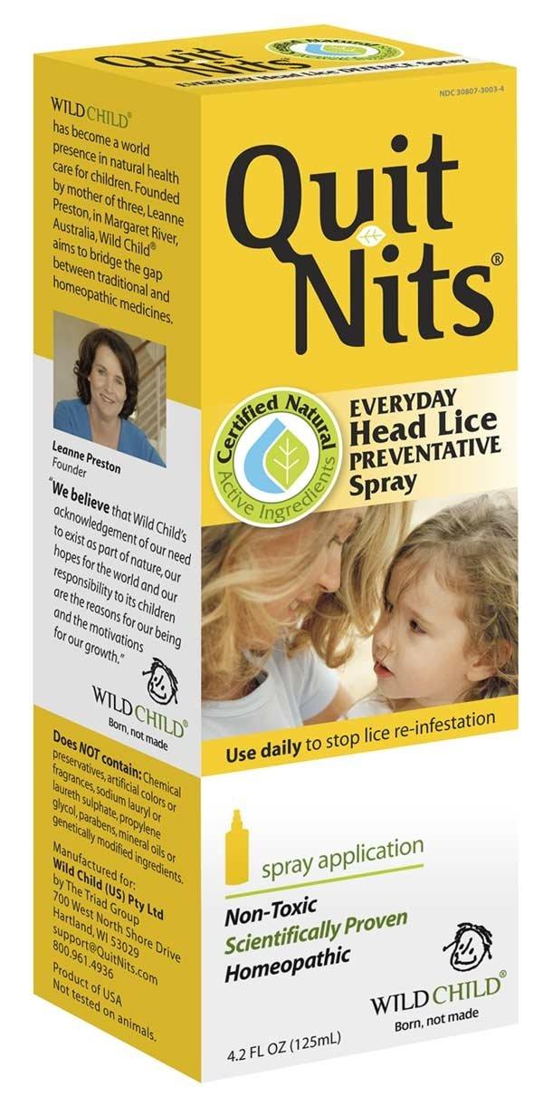Wild Child Quit Nit Lice Prev - 4 Oz, 3 Pack