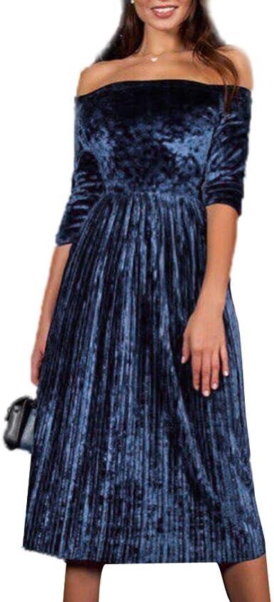 Frys Robe De Soiree Grande Taille Vetement Femme Pas Cher Fashion Hiver Robe Pull Femme Chic Printemps Cocktail Robe Vintage Robe Femme Pour Mariage Mode Velours Robe Fille Bustier Casual Amazon Fr Vetements