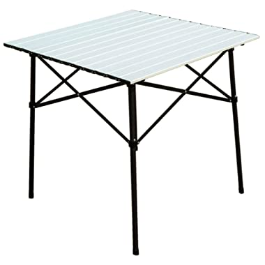 Timber Ridge Portable Roll-Up Aluminum Camping Folding Table
