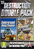 Destruction Double Pack - Underground Mining and Demolition Simulator (PC DVD) (UK IMPORT)