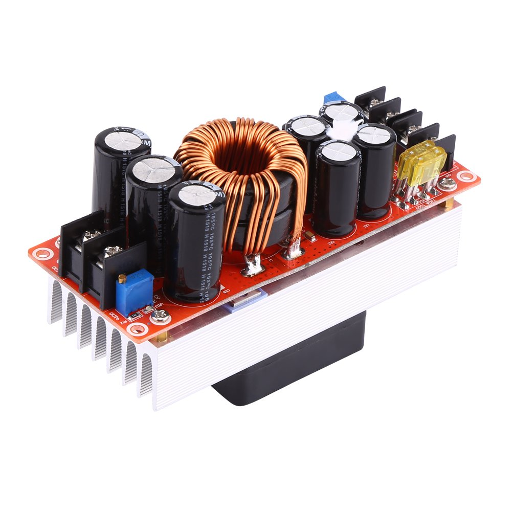 1500W 30A DC-DC Constant Current Boost Converter Step-up Power Supply Module 10-60V to 12-90V Walfront