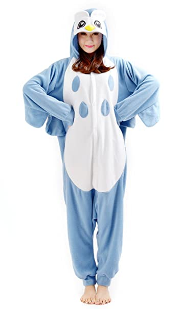 Cosplay Animales Pijamas Mujer Invierno Novedad Navidad Traje Disfraz Adulto Búho