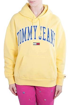 chaussures classiques nouvelle qualité bas prix Tommy Hilfiger DW0DW06524 Sweatshirt Femmes: Amazon.fr ...