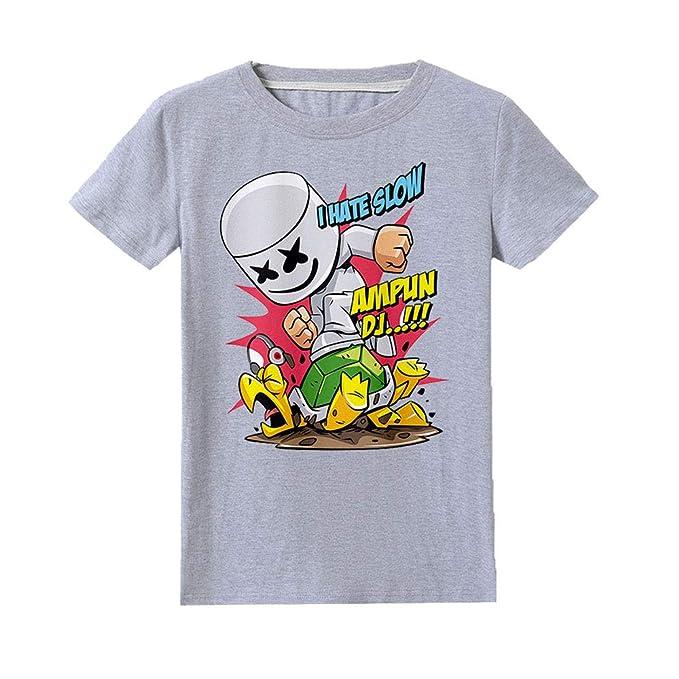 Amazon com: Yjkegjvdgf Unisex Marshmello Summer Solid Color