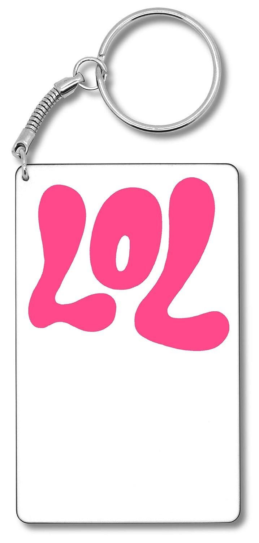 LOL Typography T-Shirt Llavero Llavero: Amazon.es: Equipaje