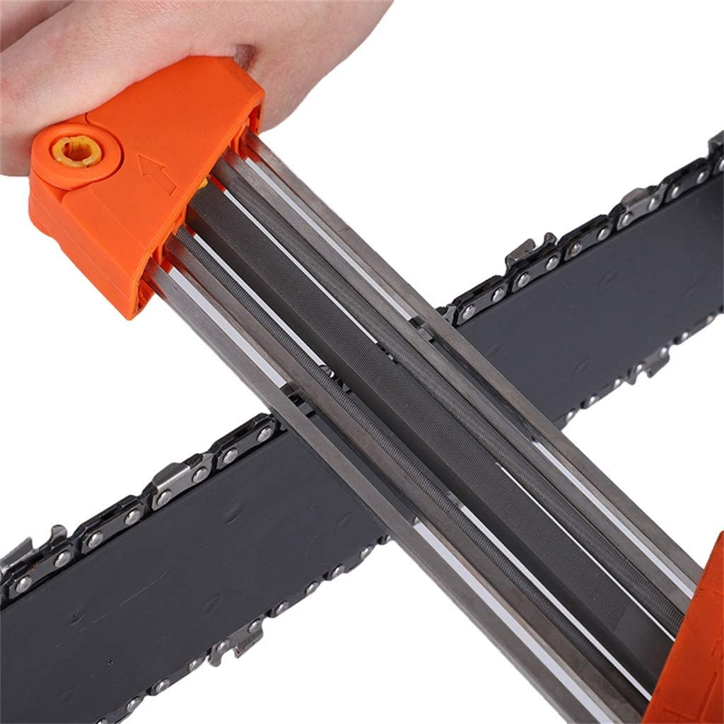 Easy File 2 In 1 Chainsaw Chain Sharpener 3//16P 4.8mm Chain Grinding Tool 3//16P 4.8mm