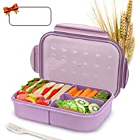 Bento Box for Kids Lunch Box Lunch Container for Adults, Leak Proof Bento Lunch Container, BPA Free Kids Bento Box…