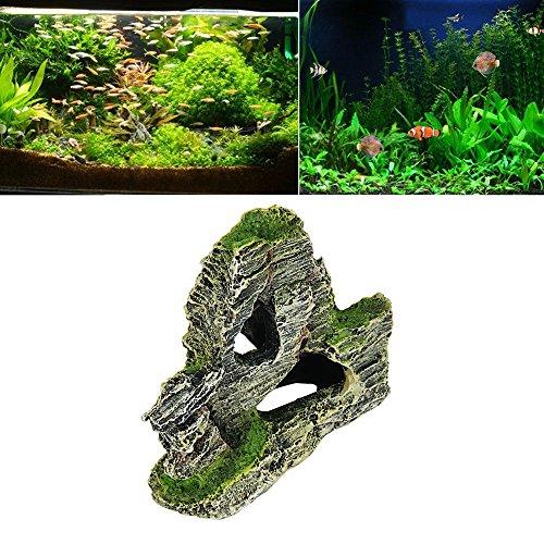 Piebo Filtros de Acuario Dibujos Animados de Resina Castillo acuarios Castillo decoración Acuario pecera Torre: Amazon.es: Jardín