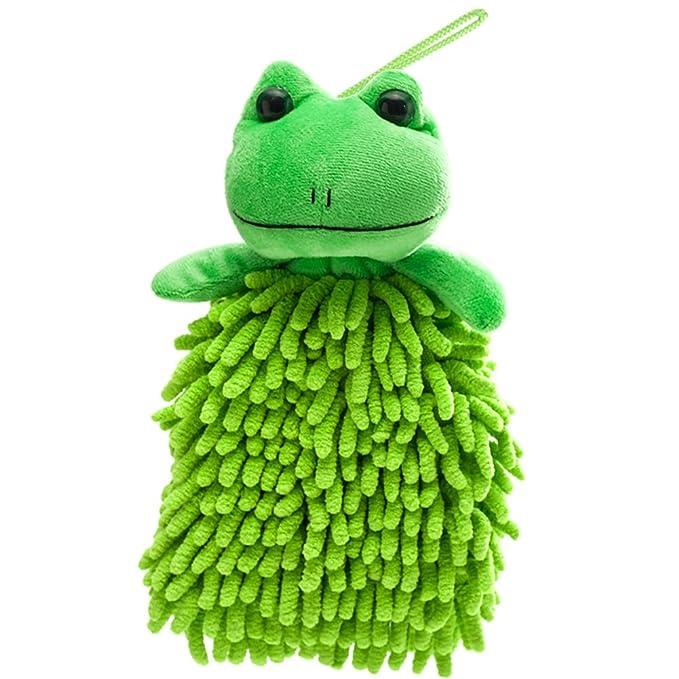 meiwash Cartoon DIY coche Hunging toalla de mano plumero gamuza de microfibra, con cuerda para colgar, decorar Cartoon Animal, multifunción para coche y ...