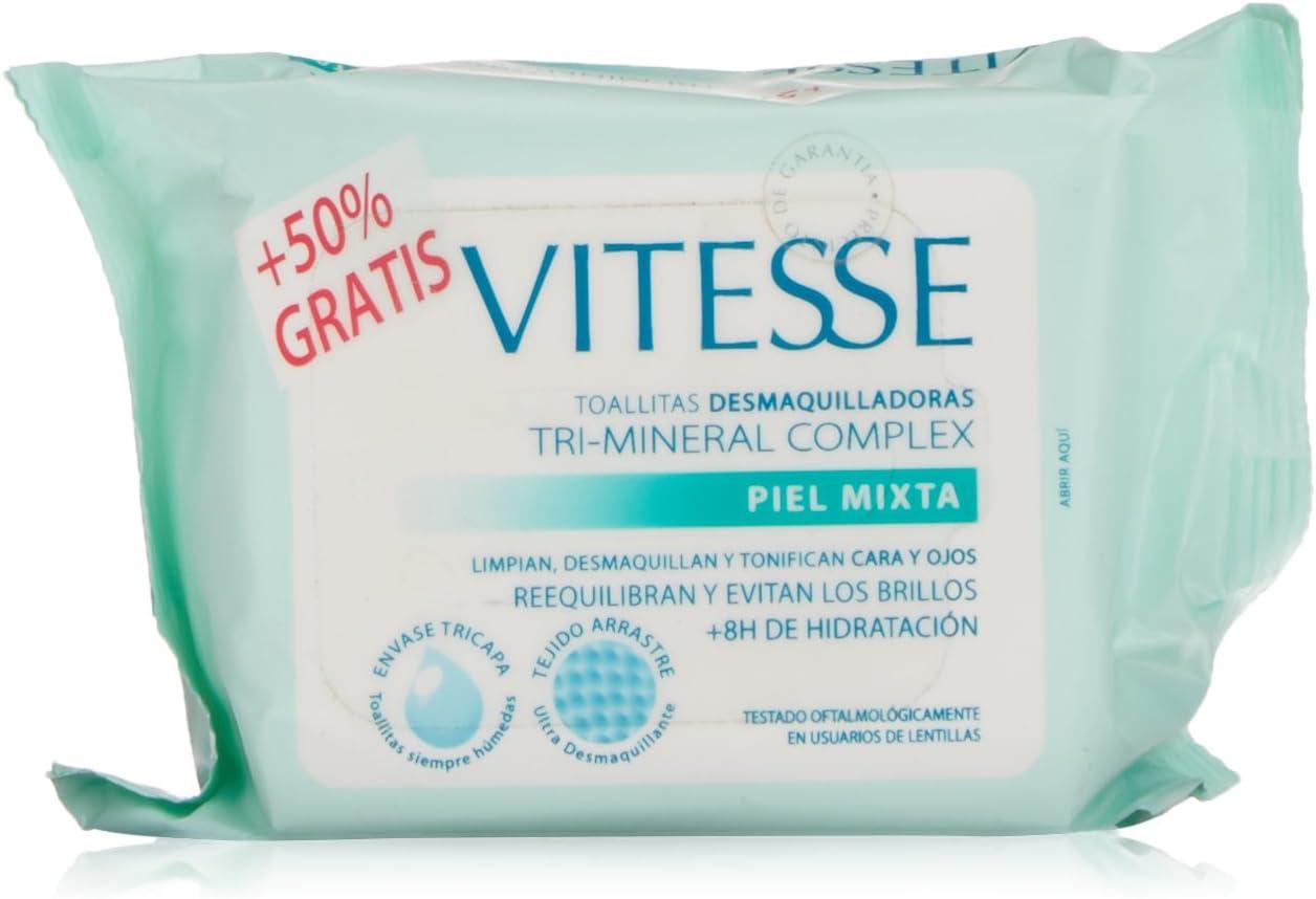 Vitesse Mineral Toallitas para Pieles Mixtas - 10 Unidades: Amazon ...