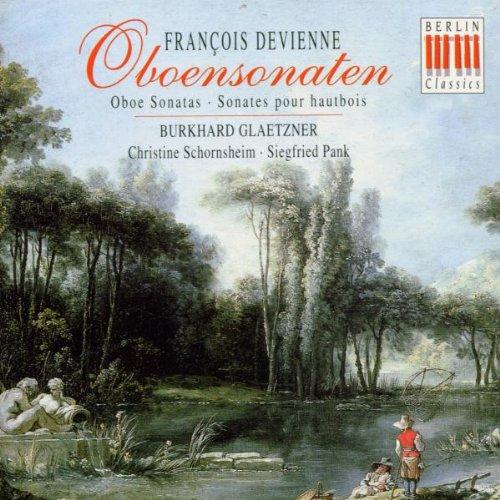 Oboe Sonatas Op 71/1-3 / Sonata Op 70/1 (Devienne Oboe Sonatas)