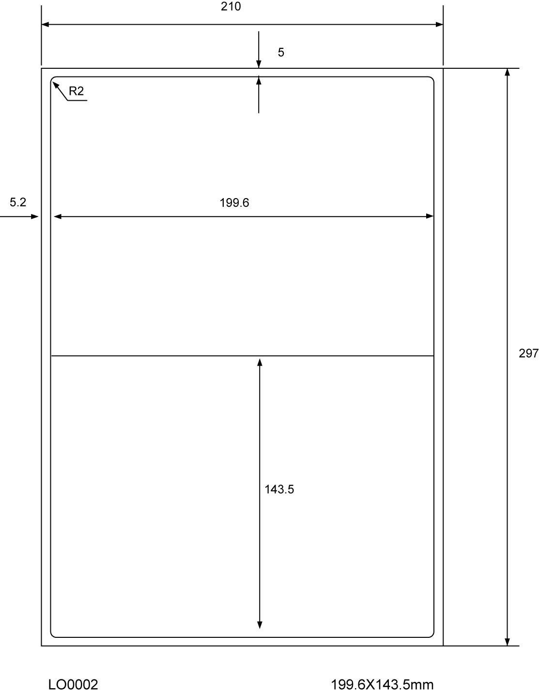 mittelstark klebend geeignet f/ür Inkjet- und Laserdrucker. 3500 St/ück Labelheaven LH-A4-V70-2-50 60g//qm selbstklebend 50 Blatt A4 Universal-Etiketten 24mm rund