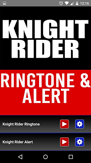 Amazon. Com: knight rider theme ringtone and alert: appstore for.