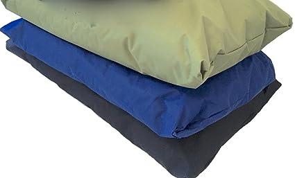 Doggyzzz Fácil de Limpiar Deluxe Extra Grande Impermeable Perro de Mascota Cama – Azul con Acolchado