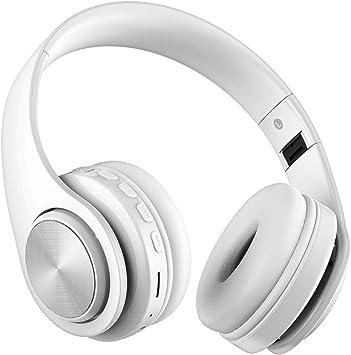 Auriculares inalámbricos Bluetooth, Headphones Plegables con ...