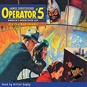 Operator #5 V10: The Red Invader Audiobook