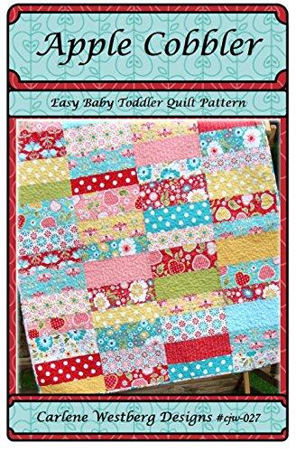 Baby Quilt Pattern Apple Cobbler cjw-027 Carlene Westberg