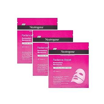 Neutrogena Hydroboost Hydrogel Mascarilla Iluminadora (3 Recipientes De 30 ml.)