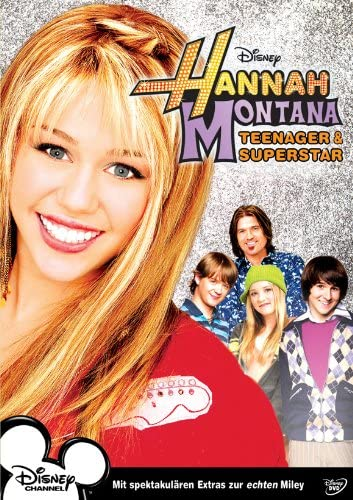Amazon Com Pop Culture Graphics Hannah Montana Poster Movie German 11x17 Miley Cyrus Billy Ray Cyrus Emily Osment Jason Earles Furniture Decor