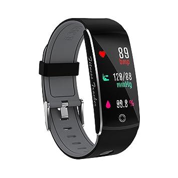 7ae30e200f60 JINSHENG Pantalla en Color de Brazalete Smart Fitness Sport Tracker  Impermeable IP68 Control Remoto Smartband para Android iOS