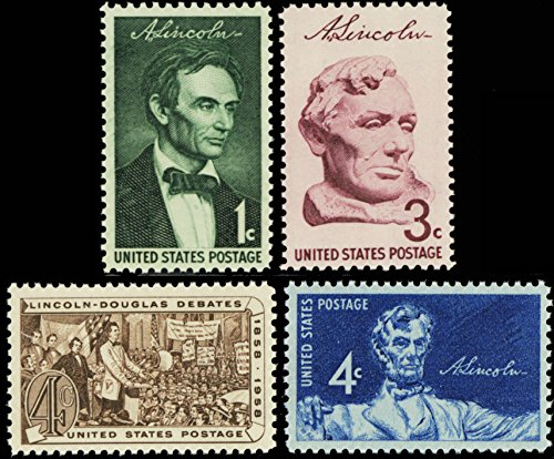 Abraham Lincoln Set of Four Vintage U.S.