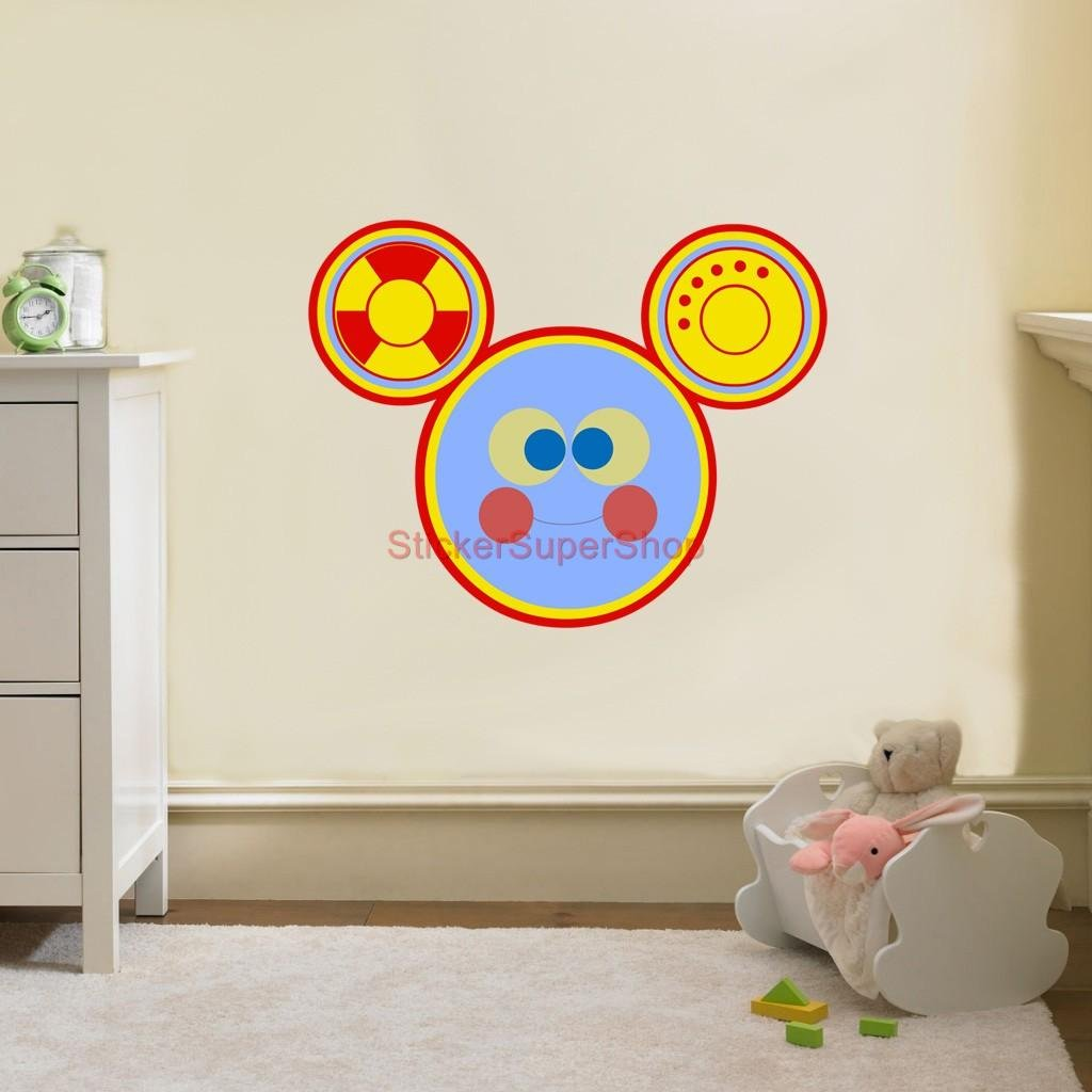 Amazon.com: TOODLES Mickey Mouse Clubhouse Disney Decal WALL STICKER Decor  Art C244, Regular: Home U0026 Kitchen Part 94