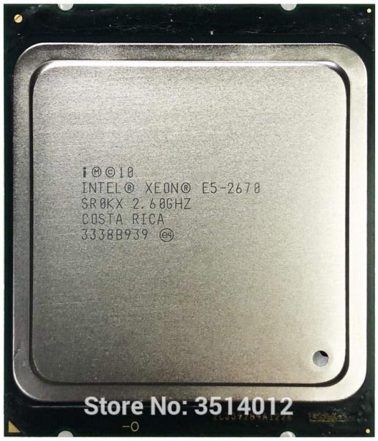 Intel Xeon E5-2670 E5 2670 2.6 GHz Eight-Core Sixteen-Thread CPU Processor 20M 115W LGA 2011